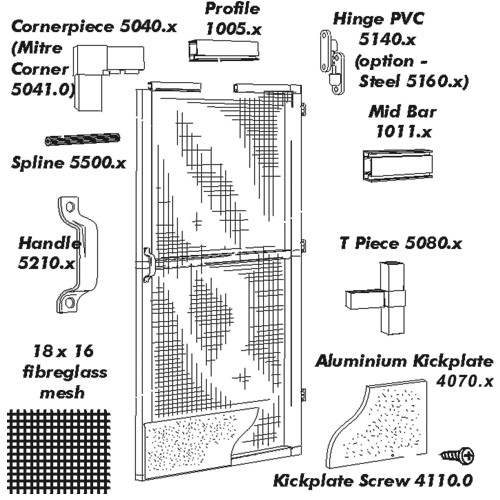 Nova Door Spare Parts