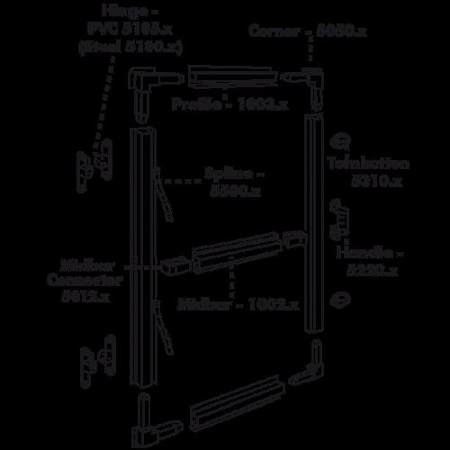 PVC Handle - Black