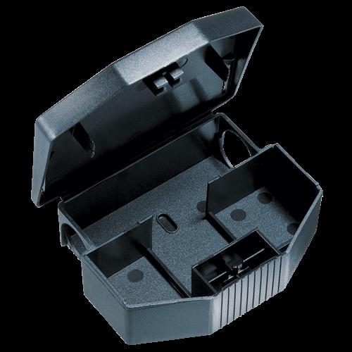 No.7 Mouse Bait Station (Black) - Box of 100