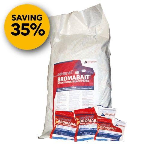 Sakarat® Bromabait Place Packs - 4 x 9 kilo bag
