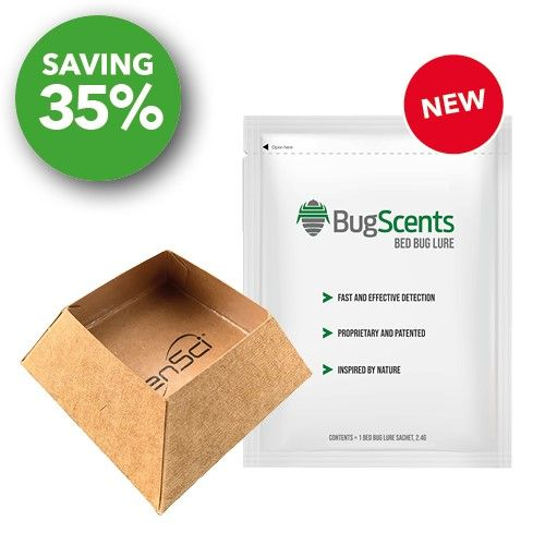 BugScents Bed Bug Lure - 8 packs of 3