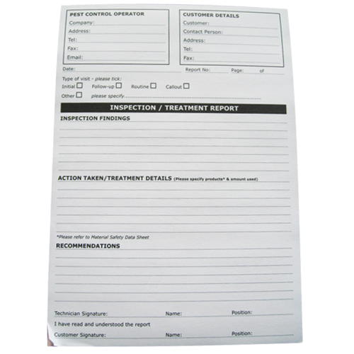 A5 Report Pads - 50 sheets