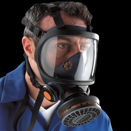 Sundstrom sr200 full face mask respirator