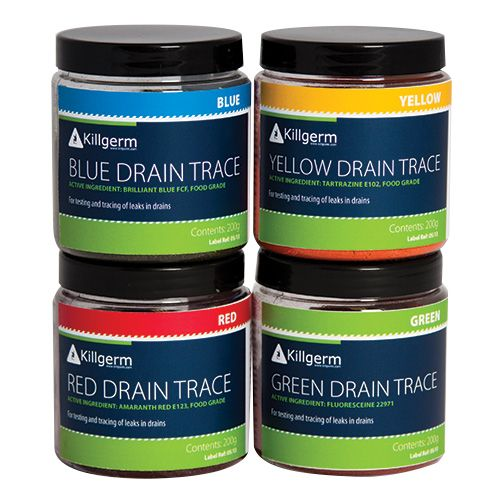 Drain Tracing Dyes