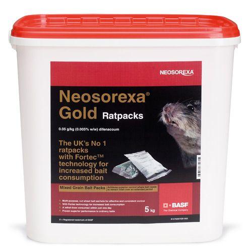 Neosorexa Gold Pro Rat Packs